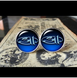 311 #2 Cuff Links Men,Wedding,Groomsmen,Gift,Groom