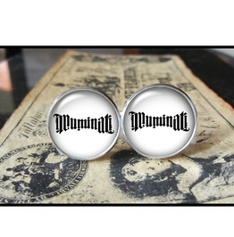 Ambigram Cuff Links #2 Men,Wedding,Groomsmen,Groom,Gift