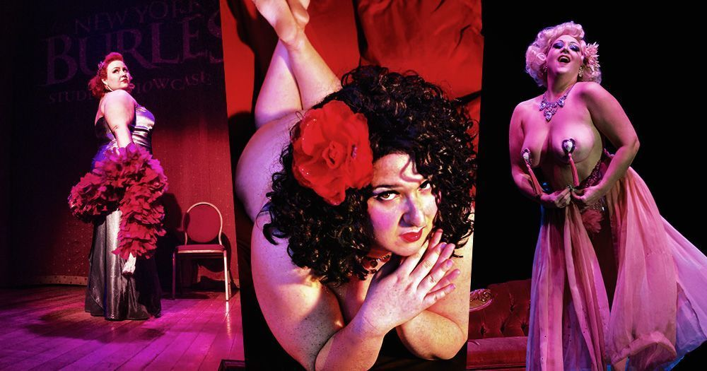 Plus-Size Performers: The Lusty Ladies Of Burlesque