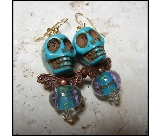 ooak_turquoise_flower_bead_body_earrings_earrings_2.JPG