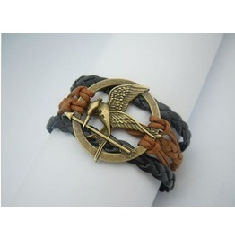 Hunger Game Retro Style Rope Bracelet Different Themes