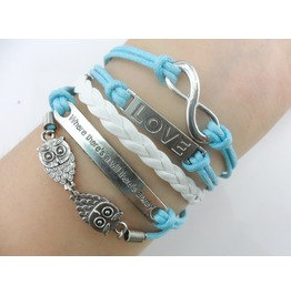 Retro Style Rope Bracelet Different Themes