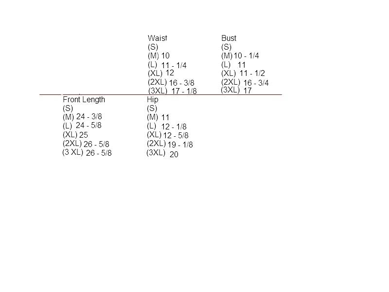 Blk   white size chart 2