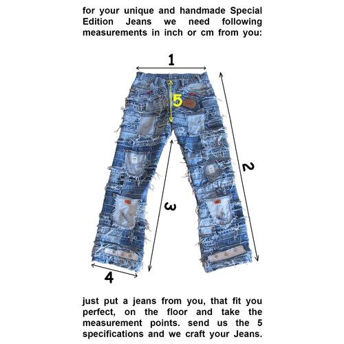 Special edition jeans measurements
