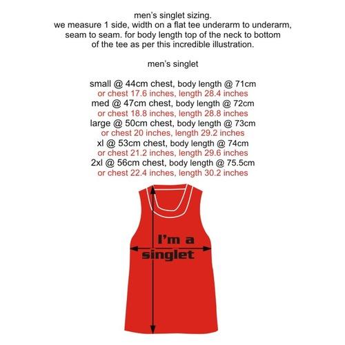 Singlet men measurements