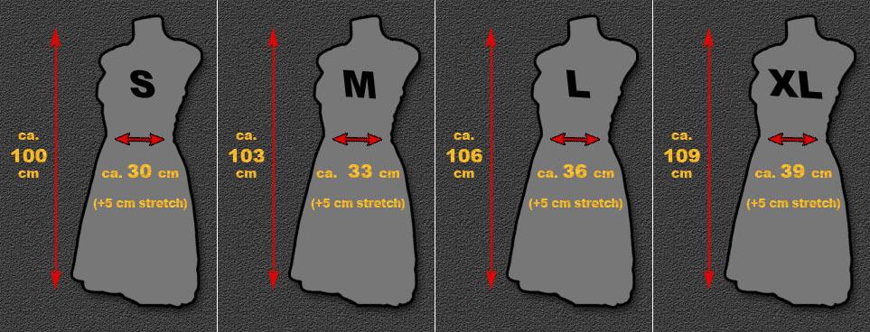 Rockabilly dress size