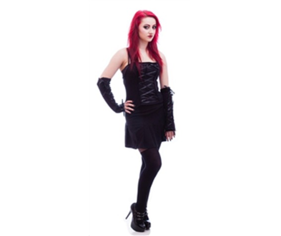 Necessary evil corset front cami top tanks tops and camis 2
