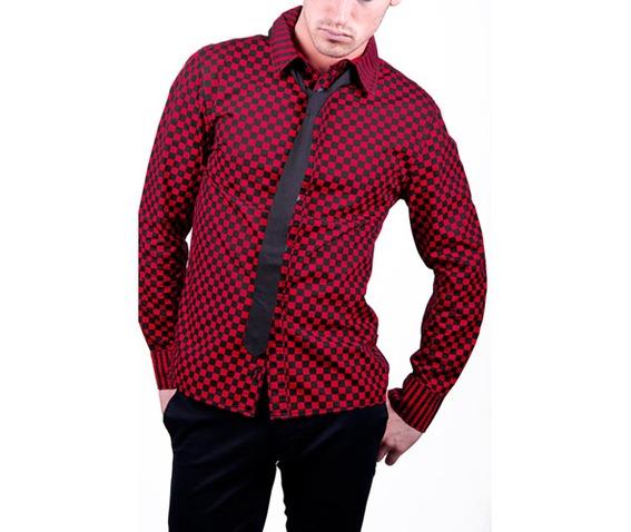 Tripp nyc black red checkered button up shirt shirts 2