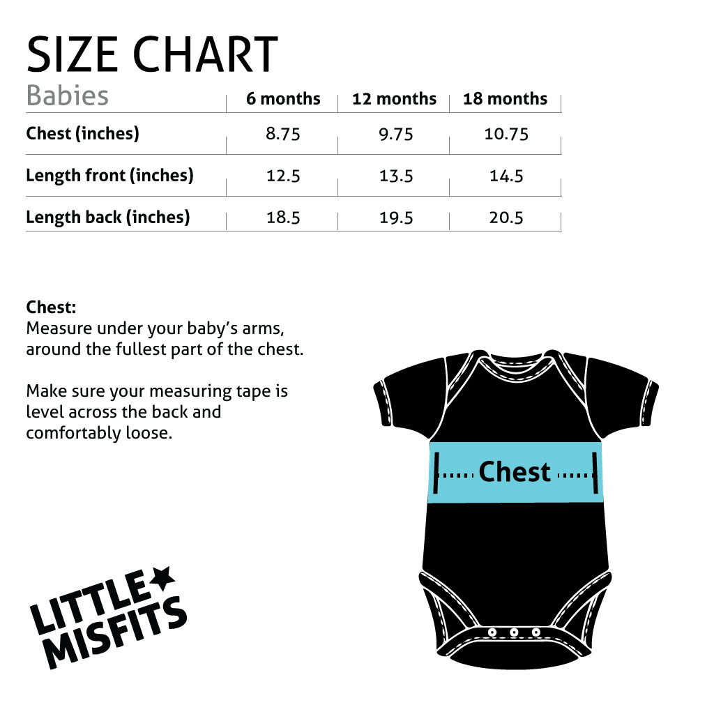 Sizes babies