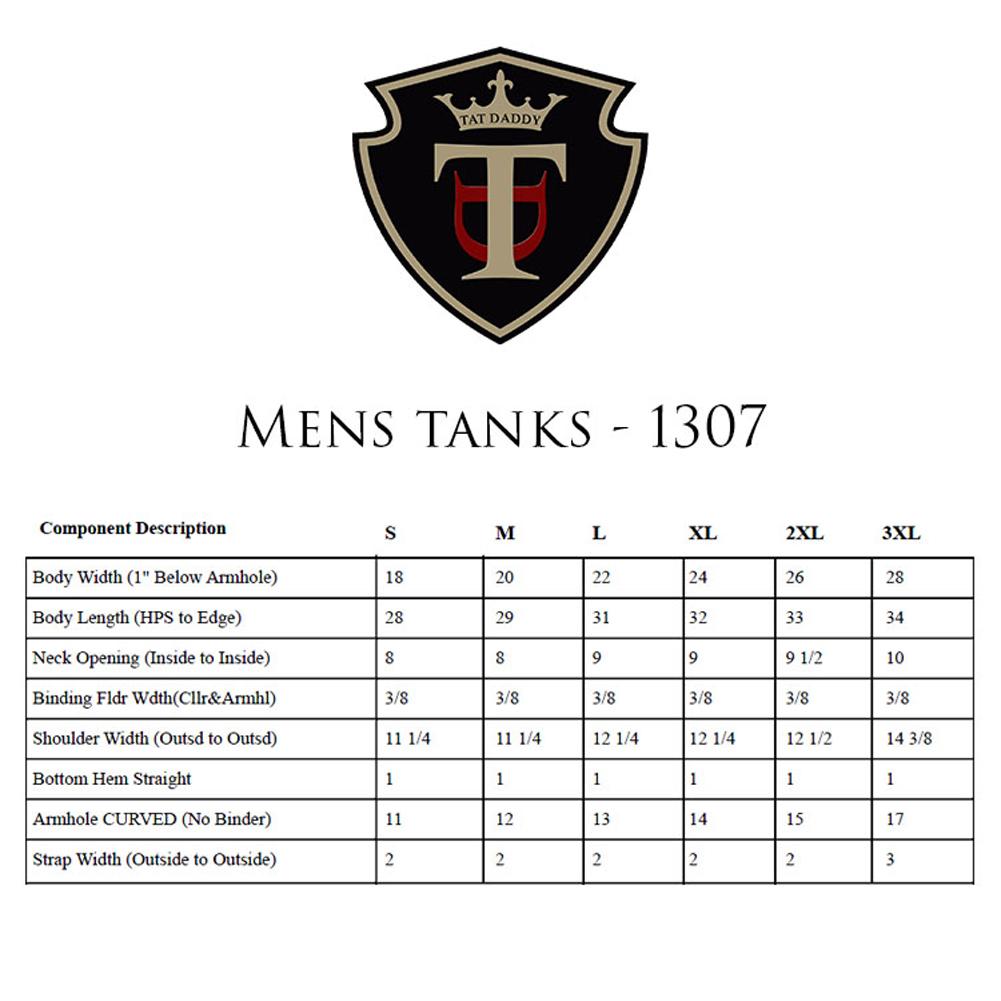 Mens tanks 1307