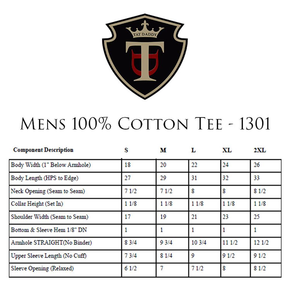 Mens 100  cotton tee