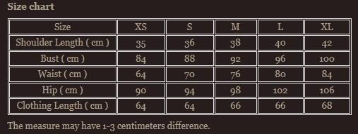 Size chart 5