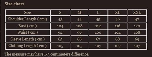 Size chart 6
