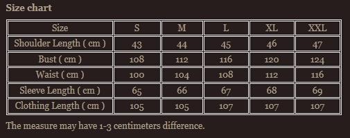 Size chart 7