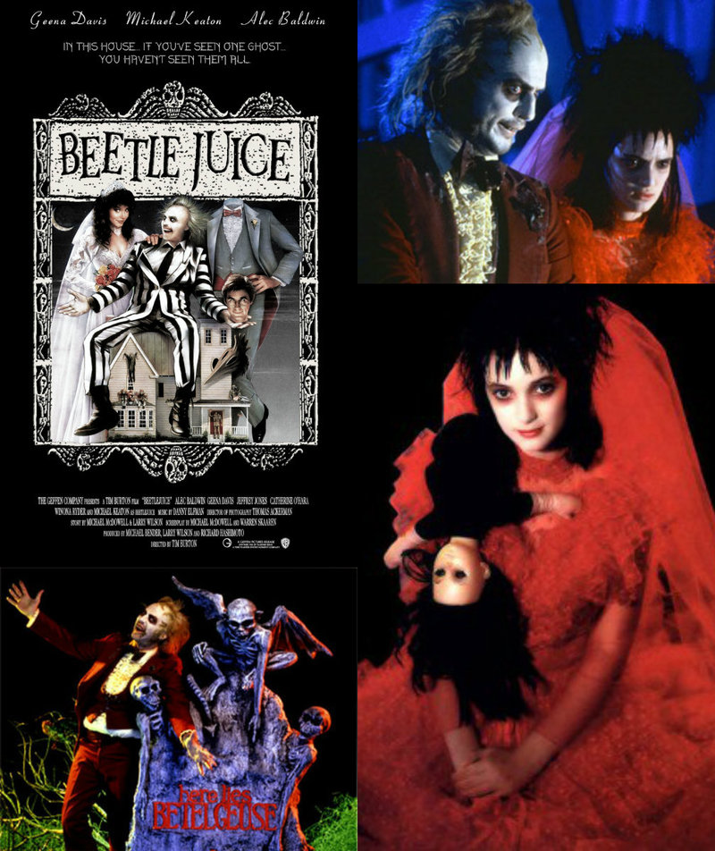 Beetlejuice Tim Burton film