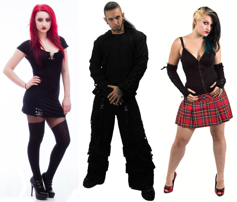 Goth clothing for men and women