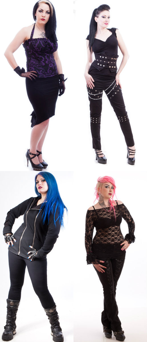 Goth women fashion
