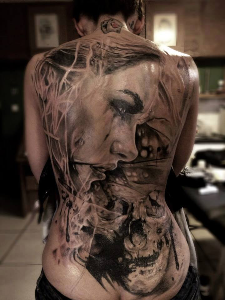 10 Mind Blowing Back Piece tetovaže - epik-3289