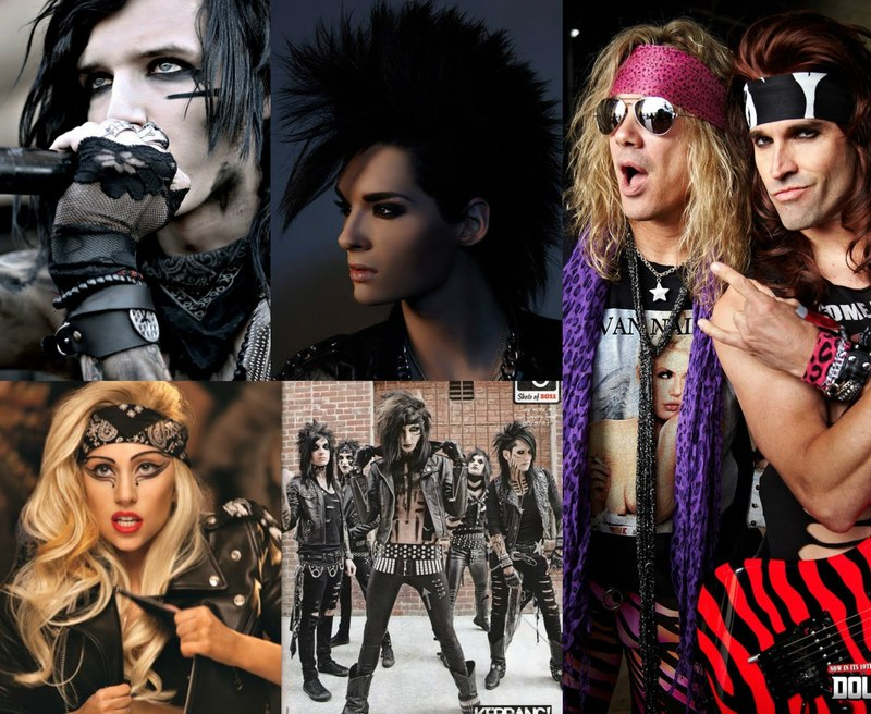 The Evolution Of Glam Rock Fashion