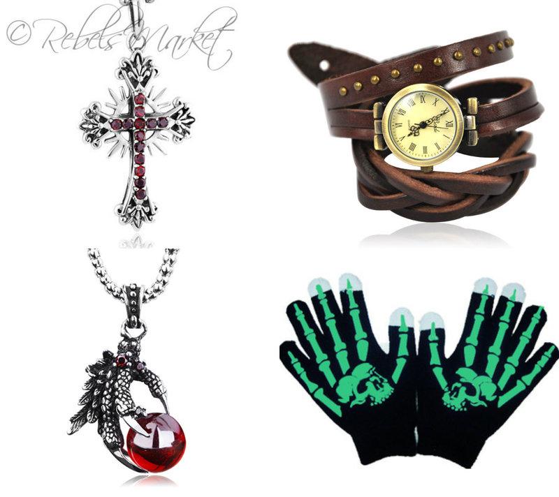Punk fashion accessories