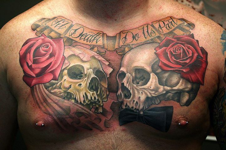 Mens Chest Tattoos Design Ideas | About Tattoo Designs