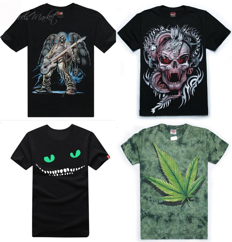 Punk men shirts