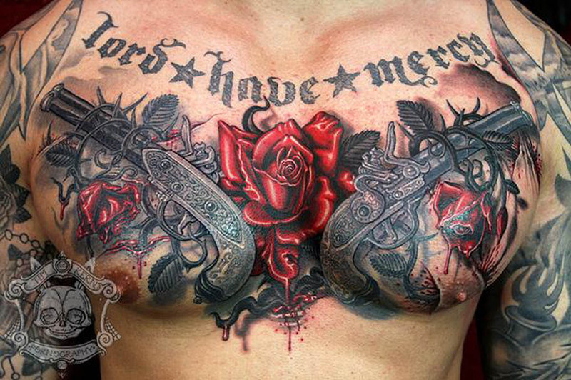 Cheap Full Coverage >> Best Chest Tattoos - Jaw-Dropping Ink Masterpieces
