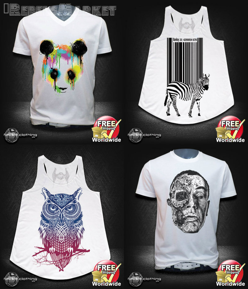 street urban shirts and vests