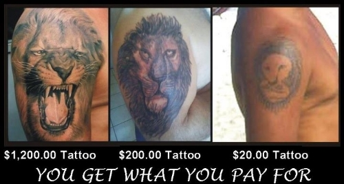 7 reasons smart people shouldn 39 t get tattoos for How much does a forearm tattoo cost