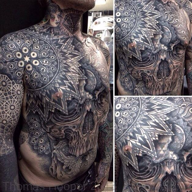 Full Stomach Tattoos For Men Tattoo By Thomas Hooper