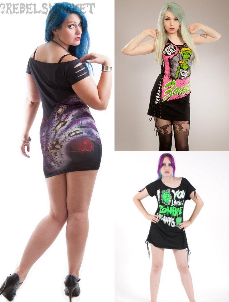 zombie dresses