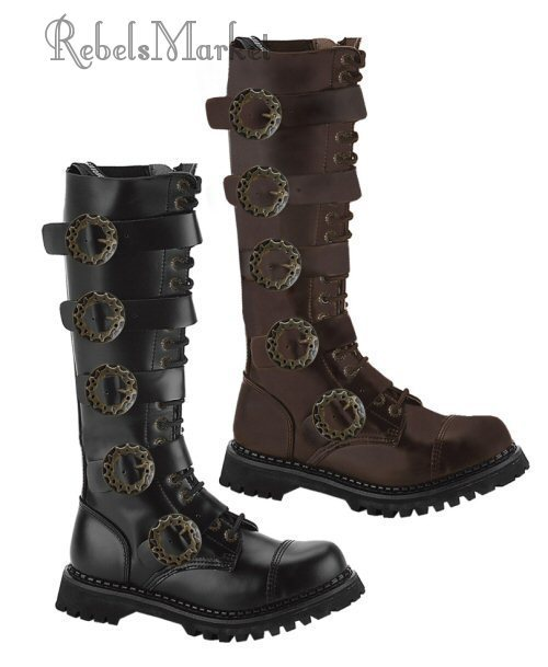 steampunk men boots