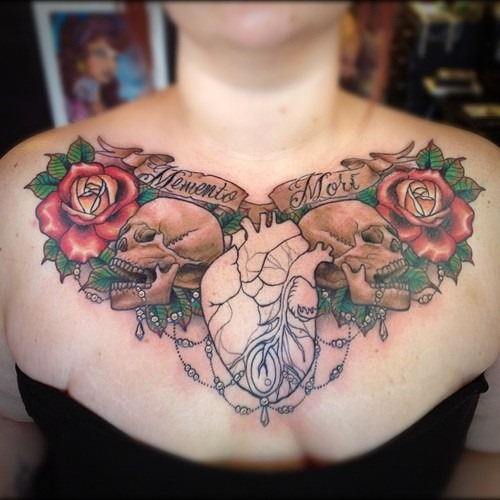 50 Unique Tattoo Ideas For Your Chest, Back, Arm, Ribs And
