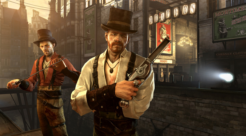 Dishonored Steampunk game