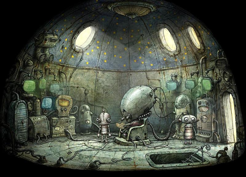 Machinarium Steampunk