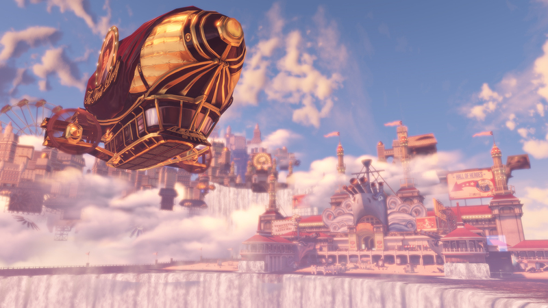 bioshock infinite steampunk