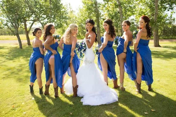 RebelsMarket - Naked BrideMaids Butt