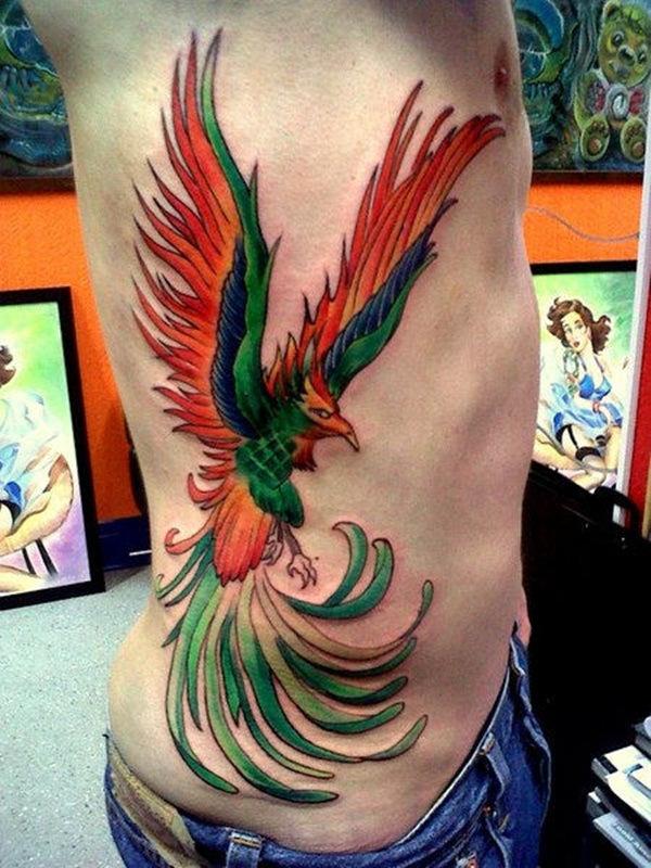 rib tattoo men