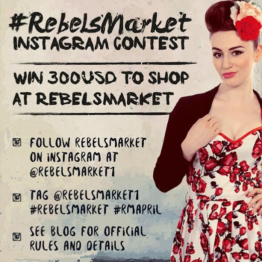 RebelsMarket Instagram Contest April 2015