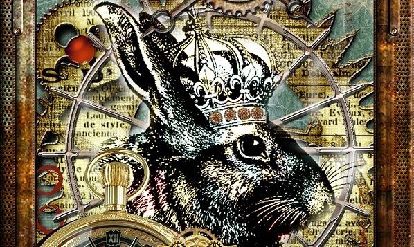 Steampunk Easter Bunny