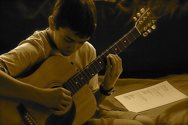 Kid's First Guitar