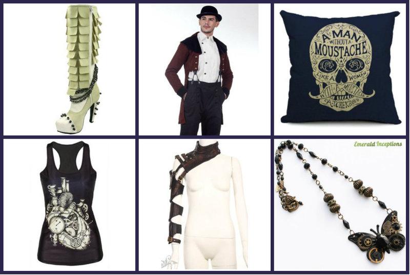 Steampunk Fashion and Decor