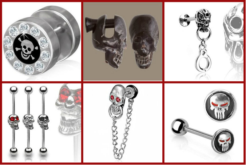 Skull Body Jewelry