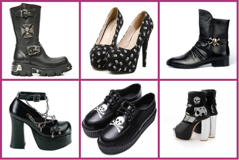 Skull Shoes for Women