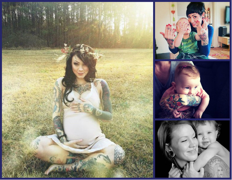 Tattooed Moms are the best!