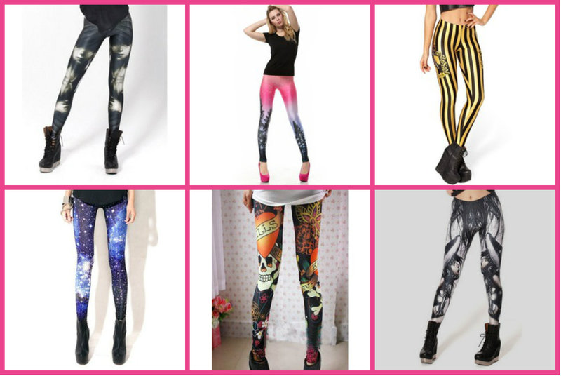 Colorful leggings for every style