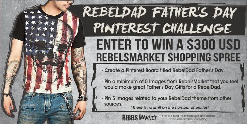 Enter the RebelsMarket May Pinterest Challenge