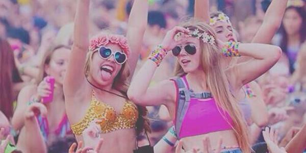 Festival Party Girls