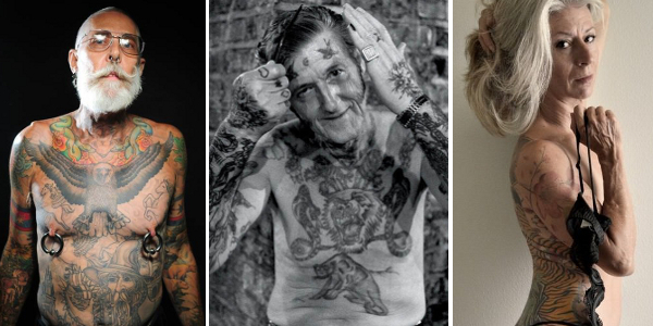 Tattoos look awesome on old people