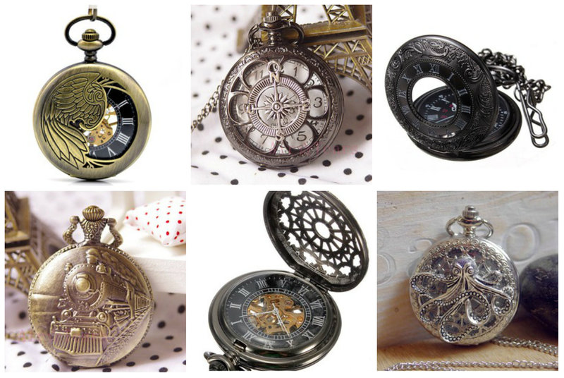 Steampunk Pocketwatches